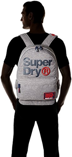 Superdry Herren High Build Lineman Montana Rucksack, 30x45x15 cm Grigio (Pepper Grey)