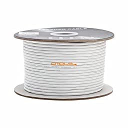 14AWG CL2 Rated 2 Conductor Loud Speaker Cable 500ft For In-Wall Installation