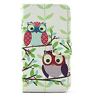 SHOUJIKE Owl Pattern Full Body Cases for iPhone 4/4S