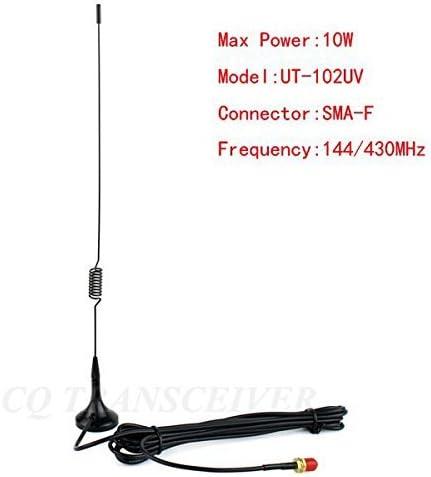 UT-102UV SMA-F UHF//VHF Vehicle-mounted Antenna for Baofeng BF-UV5R 888S