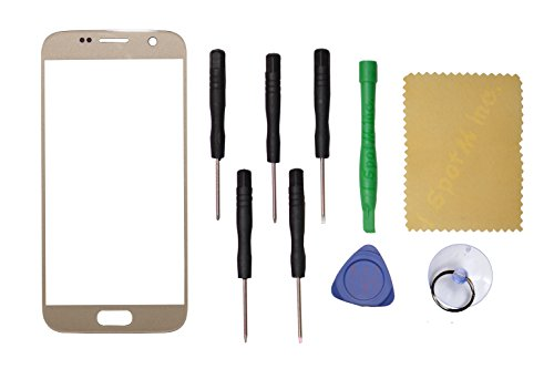Front Outer Touch Screen Glass Replacement For Samsung Galaxy S7 G930 G930 (Gold)