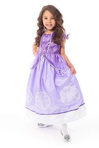 Little Adventures Purple Amulet Princess Dress Up Costume (Small Age 1-3)