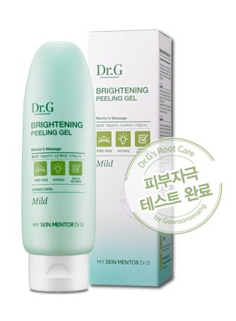 [Dr.G Brightening Peeling Gel, 4.2 Ounce] (Peeling Effect)