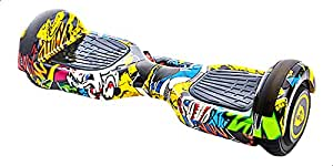 Smart Balance Hoverboard for Kids, 6.5 Inches - Multi Color