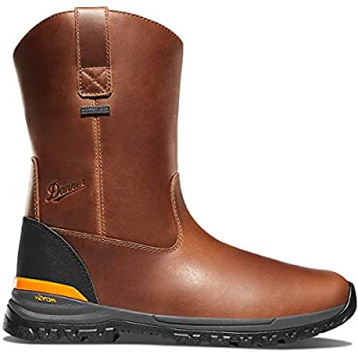 "Danner Men's Stronghold Wellington 10"" Construction Boot, Brown, 9 2E US 
