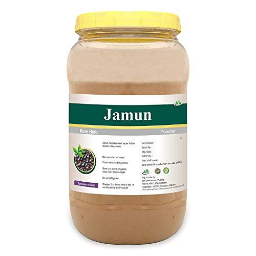 Jain's Jamun Powder - 1 kg - Indian Ayurveda's Pure Natural Herbal Supplement Powder