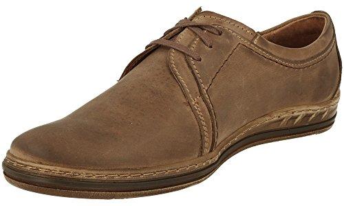 Cuir Polbut Marron À Lacets Chaussures Classic Polbut Homme 343 343 BX7WOg6