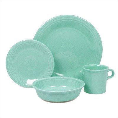 Fiestware Turquoise 4 Piece Place Setting 831107