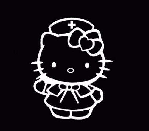 hello kitty bow car decal - 9