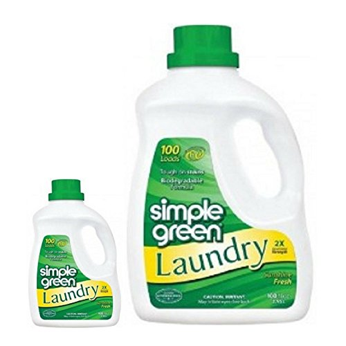 Simple Green Laundry Sunshine Fresh 100 Oz (2 Pack)