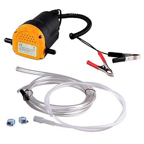 12v Engine Oil Extractor Fluid Transfer Pump with Hose For Motorcycle Truck - Motorcycle Oil Pump
