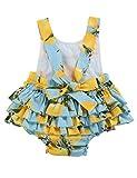 PrinceSasa Baby Girl Clothes Yellow Lemon Floral
