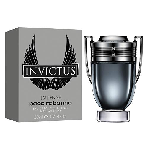 - Paco Rabanne Invictus Intense Eau De Toilette Spray for Men, 1.7 Ounce