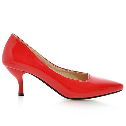 Coolcept Women Formal Thin Heel Court Shoes Red q4OBBDR3