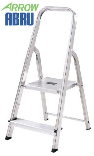 Marvelous Arrow By Abru 2 Tread Aluminium Step Ladder Bralicious Painted Fabric Chair Ideas Braliciousco