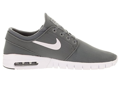 White Cool Grey SB Nike White Stefan Grey Max Men's Janoski Shoes Drk 6p8Yq