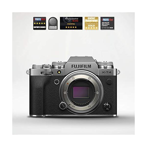 RetinaPix Fujifilm X-T4 26 MP Mirrorless Camera Body - Silver