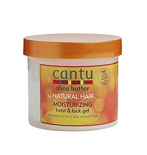 Cantu Shea Butter For Natural Hair Moisturizing Twist & Lock Gel, 13 Ounce ()