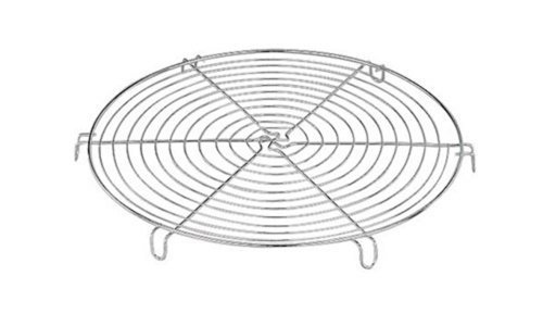 World Cuisine Round Cooling Rack, Tinned by Paderno World Cuisine (Tinned Cooling Rack)