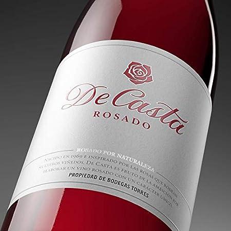 De Casta, Vino Rosado - 18.7 cl