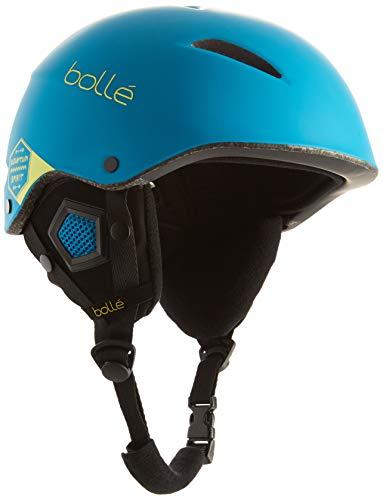 Bolle B-Style Mountain Spirit Ski Helmet, Matte Blue, 54-58cm