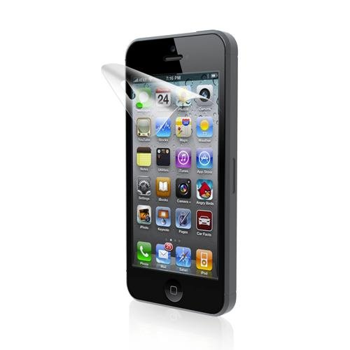 Iluv Screen Protector - iLuv ICA7F302 Glare-Free Protective Film Kit - 1 Pack - Screen Protectors and iPhone 5S - Retail Packaging - Clear