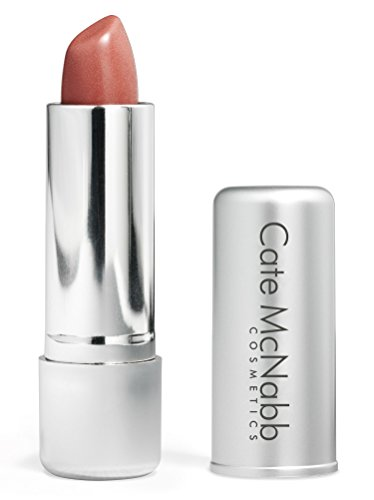 Seashell | Neutral Peach Lipstick - Satin Naturals Long-Lasting Shine Collection, Moisturizing Ingredients, Paraben-Free, Gluten-Free Formula, Cate McNabb Cosmetics, 0.16 oz.