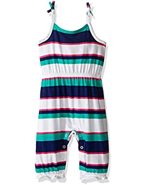Baby Girls' Stripe One Piece Romper