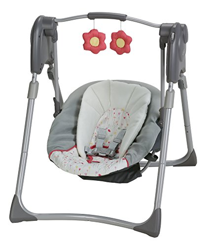 Graco Slim Spaces Compact Baby Swing, Alma by Graco (Image #2)