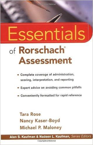 Essentials of rorschach assessment 9780471331469 medicine health essentials of rorschach assessment 9780471331469 medicine health science books amazon fandeluxe Images