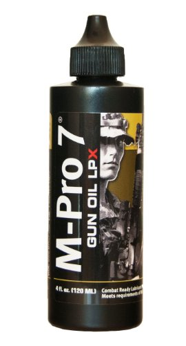 M-Pro 7 Gun Oil LPX, 4 Ounce Bottle, Outdoor Stuffs