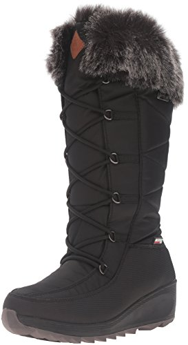 Kamik Women's Pinot Snow Boot, Black, 7 M US (Dry Pinot)