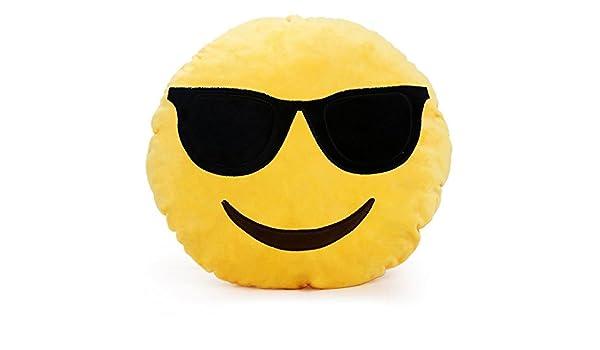 Cojín, Beauty DIY Mart almohada emoticône Emoji 32 mm ...