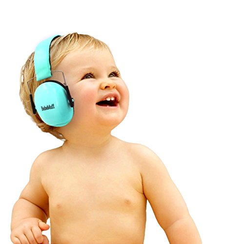 BEBE Muff Hearing Protection - BEST USA Certified Noise Reduction Ear Muffs, Mint, 3 months+ (Bands That Sound Like Fall Out Boy)