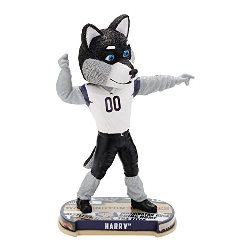 Washington Huskies Mascot Washington Huskies Headline Special Edition Bobblehead (Washington Husky Mascot)