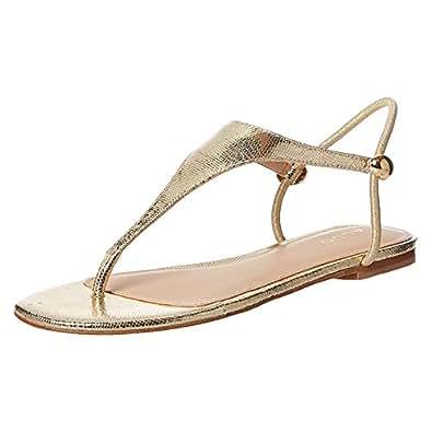 Aldo Erarenia, Women's Fashion Sandals, Gold, 38 EU