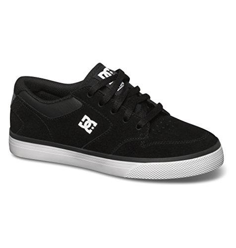 DC Shoes Nyjah Vulc - Zapatillas bajas para niño Negro / Blanco (Black / White)