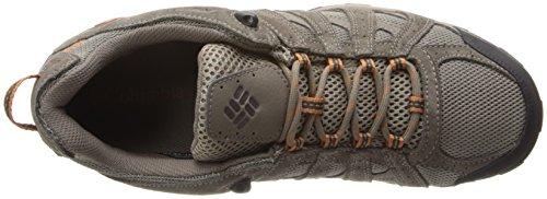 Columbia Men's Redmond Waterproof Hiking Shoe Pebble, Dark Ginger 7.5 D US by Columbia (Image #8)