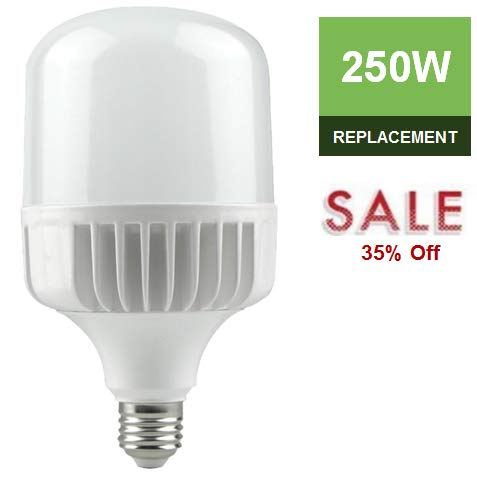 LC LED High Output 35W 4000lm (250W-350W) Commercial & Residential Bulb, Warm White (3000K), 330 Degree, Non-Dimmable (Power High Led Warm)