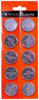 Emazing Lights CR2450 20 Pack, 3 volt Button Cell Lithium Batteries