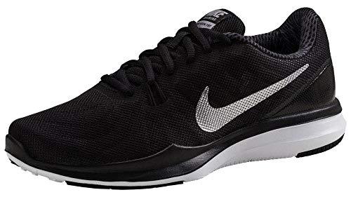 Nike Women's in-Season 7 Training Shoe Black/Metallic Silver/Anthracite Size 8 M US (Best Nike Shoes For Zumba)