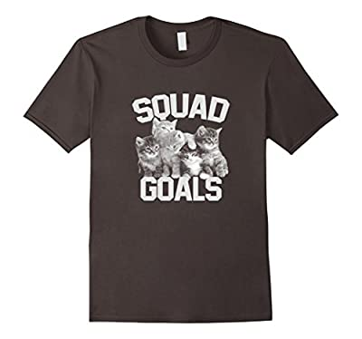 Squad Goals - Funny Cat T-Shirt
