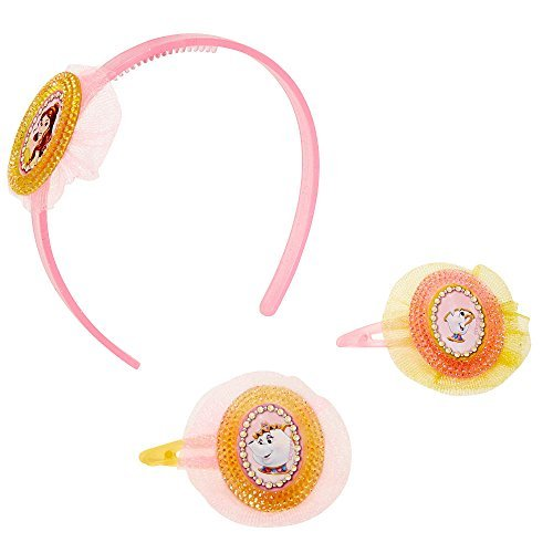 Disney Princess Belle Hair Accessory Set