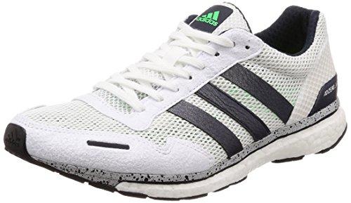 Amazon.com | adidas Adizero Adios 3 Boost Mens Running Shoes - White-10 | Running