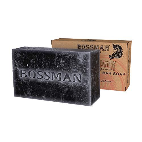 4-in-1 Bar Soap, Functions as Hair Shampoo, Beard Shampoo, Body Wash