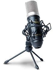 Marantz Pro MPM1000 - ميكروفون مكثف تسجيل ستوديو مع حامل للصدمات وحامل سطح المكتب وكابل - مثالي للملفات الصوتية ومشروعات الصوت