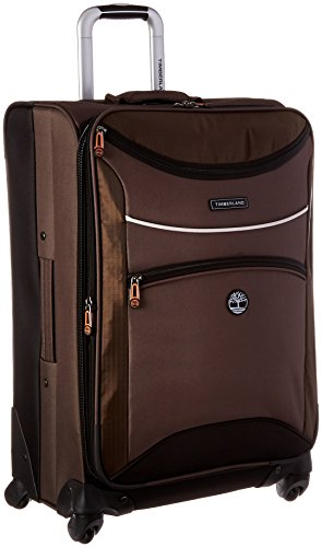 Timberland Route 4 24 Expandable Spinner, Cocoa, One - Luggage Brown