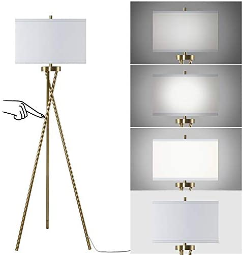 JIOSXC Touch Control Tripod Floor Lamp