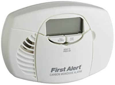 First Alert Battery Powered Carbon Monoxide Alarm with Digital Display by First Alert