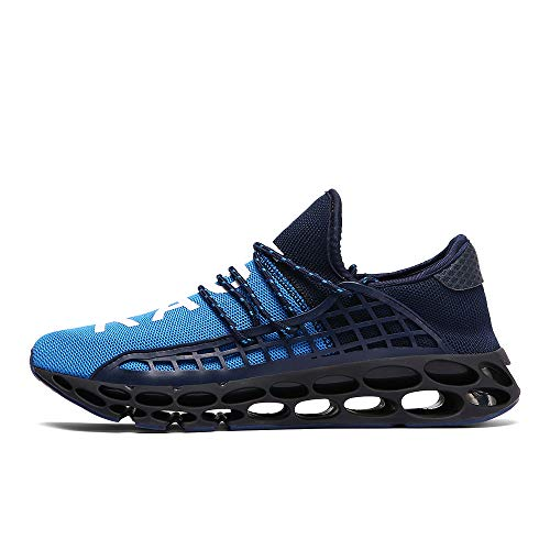 Ahico Mens Running Shoes Womens Fashion Casual Sneakers Breathable Mesh Slip on Blade Athletic Tennis Sports Shoe for Men